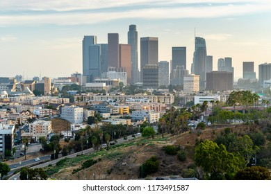 Los Angeles downton skyline