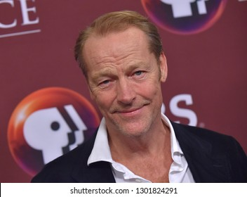LOS ANGELES - FEB 01:  Iain Glen arrives for the PBS Masterpiece Photo Call on February 01, 2019 in Pasadena, CA
