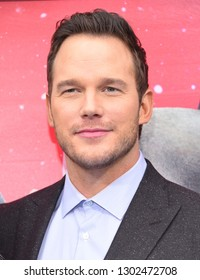"""LOS ANGELES - FEB 02:  Chris Pratt arrives to """"The LEGO Movie 2: The Second Part"""" World Premiere on February 02, 2019 in Westwood, CA"""