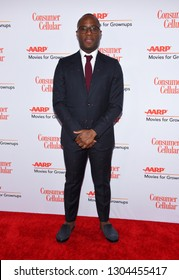 LOS ANGELES - FEB 04:  Barry Jenkins arrives for AARP's Movies For Grownups Awards 2019 on February 4, 2019 in Beverly Hills, CA