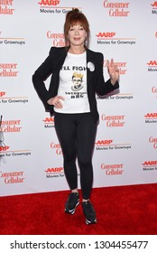 LOS ANGELES - FEB 04:  Frances Fisher arrives for AARP's Movies For Grownups Awards 2019 on February 4, 2019 in Beverly Hills, CA