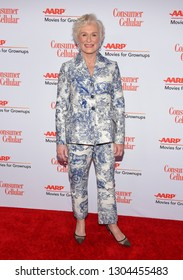 LOS ANGELES - FEB 04:  Glenn Close arrives for AARP's Movies For Grownups Awards 2019 on February 4, 2019 in Beverly Hills, CA