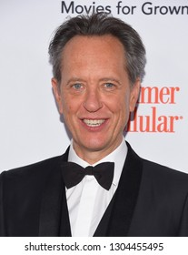 LOS ANGELES - FEB 04:  Richard E. Grant arrives for AARP's Movies For Grownups Awards 2019 on February 4, 2019 in Beverly Hills, CA