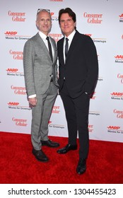 LOS ANGELES - FEB 04:  Rob Marshall and John DeLuca arrives for AARP's Movies For Grownups Awards 2019 on February 4, 2019 in Beverly Hills, CA