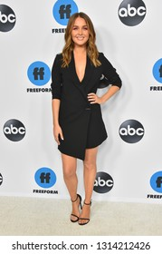 LOS ANGELES - FEB 05:  Camilla Luddington arrives for the ABC Winter Press Tour 2019 on February 05, 2019 in Pasadena, CA