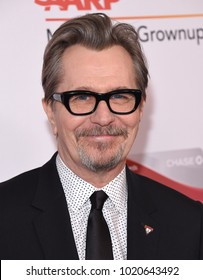 LOS ANGELES - FEB 05:  Gary Oldman arrives for the 2018 Movies for Grownups Awards on February 5, 2018 in Beverly Hills, CA