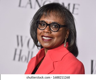 LOS ANGELES - FEB 06:  Anita Hill {Object} arrives for Vanity Fair Lancome Women in Hollywood Party on February 06, 2020 in West Hollywood, CA