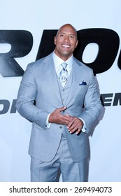 """LOS ANGELES - FEB 1:  Dwayne Johnson at the """"Avengers; Age Of Ultron"""" Los Angeles Premiere at the TCL Chinese Theater on April 1, 2015 in Los Angeles, CA"""