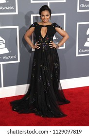 LOS ANGELES - FEB 10:  Ashanti arrives to the 2013 Grammy Awards  on February 10, 2013 in Hollywood, CA