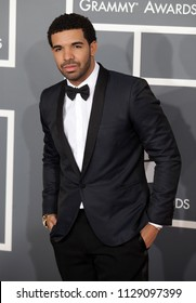 LOS ANGELES - FEB 10:  Drake arrives to the 2013 Grammy Awards  on February 10, 2013 in Hollywood, CA