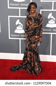 LOS ANGELES - FEB 10:  Estelle arrives to the 2013 Grammy Awards  on February 10, 2013 in Hollywood, CA