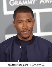 LOS ANGELES - FEB 10:  Frank Ocean arrives to the 2013 Grammy Awards  on February 10, 2013 in Hollywood, CA