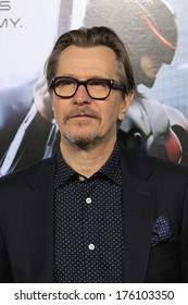 """LOS ANGELES - FEB 10:  Gary Oldman at the """"Robocop"""" - Los Angeles Premiere at TCL Chinese Theater on February 10, 2014 in Los Angeles, CA"""