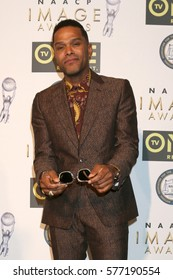 LOS ANGELES - FEB 10:  Gerald Maxwell Rivera at the Non-Televisied 48th NAACP Image Awards at Pasadena Conference Center on February 10, 2017 in Pasadena, CA