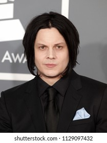 LOS ANGELES - FEB 10:  Jack White arrives to the 2013 Grammy Awards  on February 10, 2013 in Hollywood, CA
