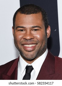 """LOS ANGELES - FEB 10:  Jordan Peele arrives for the """"Get Out"""" Los Angeles Premiere on February 10, 2017 in Los Angeles, CA"""