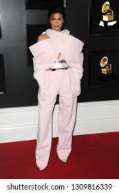 LOS ANGELES - FEB 10:  Kylie Jenner at the 61st Grammy Awards at the Staples Center on February 10, 2019 in Los Angeles, CA