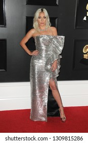 LOS ANGELES - FEB 10:  Lady Gaga at the 61st Grammy Awards at the Staples Center on February 10, 2019 in Los Angeles, CA