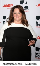 "LOS ANGELES - FEB 10:  Melissa McCarthy at the AARP ""Movies for Grownups"" Awards at Beverly Wilshire Hotel on February 10, 2014 in Los Angeles, CA"