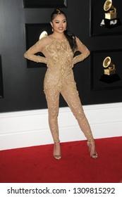 LOS ANGELES - FEB 10:  Mimi at the 61st Grammy Awards at the Staples Center on February 10, 2019 in Los Angeles, CA