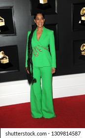 LOS ANGELES - FEB 10:  Tracee Ellis Ross at the 61st Grammy Awards at the Staples Center on February 10, 2019 in Los Angeles, CA