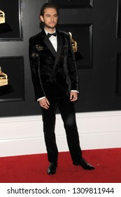 LOS ANGELES - FEB 10:  Zedd at the 61st Grammy Awards at the Staples Center on February 10, 2019 in Los Angeles, CA