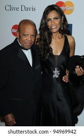 LOS ANGELES - FEB 11: Berry Gordy arrives at the Pre-Grammy Party hosted by Clive Davis at the Beverly Hilton Hotel on February 11, 2012 in Beverly Hills, CA