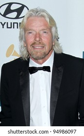 LOS ANGELES - FEB 11:  Richard Branson arrives at the Pre-Grammy Party hosted by Clive Davis at the Beverly Hilton Hotel on February 11, 2012 in Beverly Hills, CA