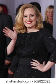 """LOS ANGELES - FEB 12:  Adele arrives for the """"Kong Skull Island"""" Los Angeles Premiere on February 12, 2012 in Los Angeles, CA"""