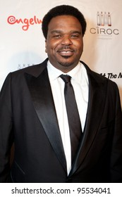 """LOS ANGELES - FEB. 12: Craig Robinson attends the """"Fame At The Mansion"""" 2012 Grammy Aterparty hosted by Sean """"Diddy"""" Combs held at the Playboy Mansion. Los Angeles, Feb 12, 2012"""