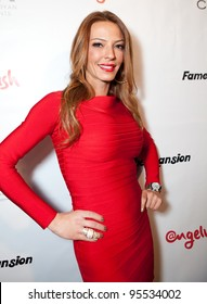 """LOS ANGELES - FEB. 12: Drita D'Avanzo attends the """"Fame At The Mansion"""" 2012 Grammy Aterparty hosted by Sean """"Diddy"""" Combs held at the Playboy Mansion. Los Angeles, Feb 12, 2012"""