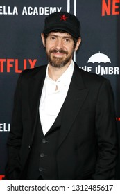 LOS ANGELES - FEB 12: Gabriel Ba at the premiere of Netflix's 'The Umbrella Academy' at ArcLight Hollywood on February 12, 2019 in Los Angeles, California,