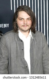 LOS ANGELES - FEB 12: Gerard Way at the premiere of Netflix's 'The Umbrella Academy' at ArcLight Hollywood on February 12, 2019 in Los Angeles, California,