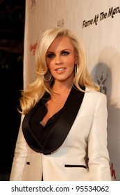 """LOS ANGELES - FEB. 12: Jenny McCarthy attends the """"Fame At The Mansion"""" 2012 Grammy Aterparty hosted by Sean """"Diddy"""" Combs held at the Playboy Mansion. Los Angeles, Feb 12, 2012"""