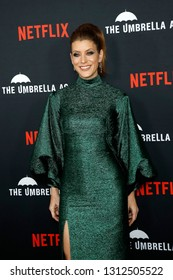LOS ANGELES - FEB 12: Kate Walsh at the premiere of Netflix's 'The Umbrella Academy' at ArcLight Hollywood on February 12, 2019 in Los Angeles, California,