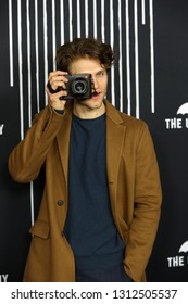 LOS ANGELES - FEB 12: Keegan Allen at the premiere of Netflix's 'The Umbrella Academy' at ArcLight Hollywood on February 12, 2019 in Los Angeles, California,