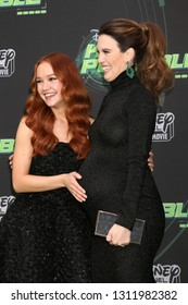 """LOS ANGELES - FEB 12:  Sadie Stanley, Christy Carlson Romano at the """"Kim Possible"""" Premiere Screening at the TV Academy on February 12, 2019 in Los Angeles, CA"""