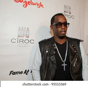 """LOS ANGELES - FEB. 12: Sean """"Diddy"""" Combs attends the """"Fame At The Mansion"""" 2012 Grammy Aterparty hosted by Sean """"Diddy"""" Combs at the Playboy Mansion in Los Angeles on Feb. 12, 2012."""