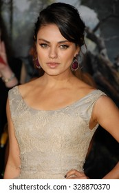 LOS ANGELES - FEB 13 - Mila Kunis arrives at the Oz The Great and Powerful World Premiere on February 13, 2013 in Los Angeles, CA