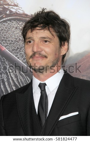 "LOS ANGELES - FEB 15:  Pedro Pascal at ""The Great Wall"" Premiere at the TCL Chinese Theater on February 15, 2017 in Los Angeles, CA"