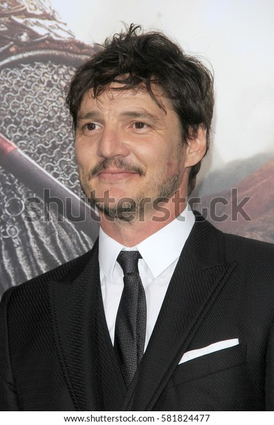"""LOS ANGELES - FEB 15:  Pedro Pascal at """"The Great Wall"""" Premiere at the TCL Chinese Theater on February 15, 2017 in Los Angeles, CA"""