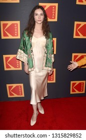 LOS ANGELES - FEB 15:  Samantha Robinson at the 3rd Annual Kodak Film Awards at the Hudson Loft on February 15, 2019 in Los Angeles, CA
