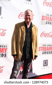 LOS ANGELES - FEB 17:  Joss Whedon arrives at the 2013 Streamy Awards at the Hollywood Palladium on February 17, 2013 in Los Angeles, CA