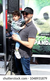 """LOS ANGELES - FEB 17:  Reid Scott, Conrad Scott at the World Premiere Of """"Pandas"""" at the TCL Chinese Theater IMAX on February 17, 2018 in Los Angeles, CA"""