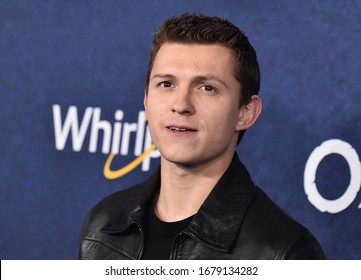 LOS ANGELES - FEB 18: Tom Holland arriving to the ÔOnwardÕ World Premiere on February 18, 2020 in Hollywood, CA
