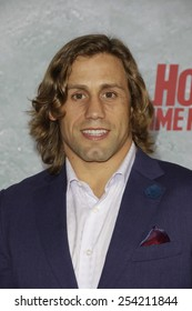 LOS ANGELES - FEB 18: Urijah Faber at the 'Hot Tub Time Machine 2' premiere on February 18, 2014 in Los Angeles, California