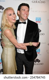 """LOS ANGELES - FEB 19:  Camilla Dallerup, Kevin Sacre at the """"Icons of the Awards"""" Pre-Oscar Party at a Mr C Beverly Hills on February 19, 2015 in Beverly Hills, CA"""