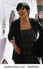 LOS ANGELES - FEB 19:  Kris Jenner at the Launch of 'The Kim Kardashian Vanilla Cupcake Mix' at Famous Cupcakes in Beverly Hills, California on February 19, 2010.