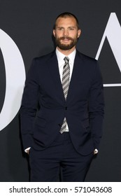 """LOS ANGELES - FEB 2:  Jamie Dornan at the """"Fifty Shades Darker"""" World Premiere at Theater at Ace Hotel on February 2, 2017 in Los Angeles, CA"""