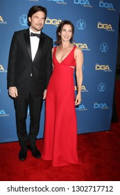 LOS ANGELES - FEB 2:  Jason Bateman, Amanda Anka at the 2019 Directors Guild of America Awards at the Dolby Ballroom on February 2, 2019 in Los Angeles, CA